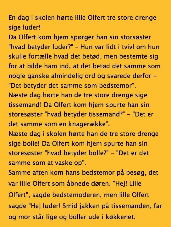 Kirsten Norholt bryster sjove gamle danske ord