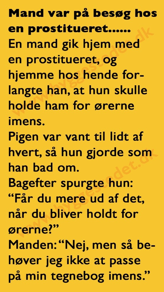 sjove gamle danske ord mavepine efter samleje